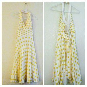 Betsey Johnson Sydney Halter Top Dress